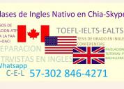 Clases cursos de ingles nativo  ealts toefl  itep