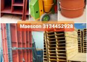 Formaleta metalica, formaleta en madera