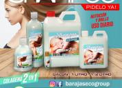 Shampoo uso diario para dama y caballero