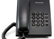 2 teléfonos para línea fija marca panasonic