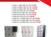 Venta locker metalico