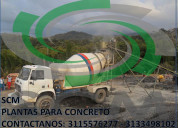 Camiones mixer- mezcladores