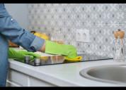 Servicio de limpieza en un lugar especifico del ho