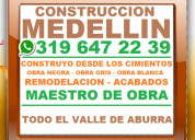 Medellin, mega maestro de obra contratista, ofic