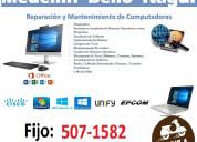 Reparación computadore laureles medellin t:5071582