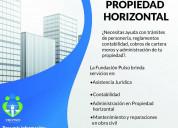 Servicios para administracion edificios y conjunto