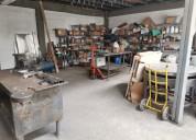Venta de taller de metalmecanica