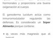 Se vende productos de ganoderma 100& garantizado p