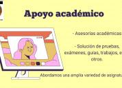 Clases, cursos y asesorías