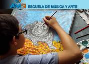 Aprende a pintar desde tu casa – online.
