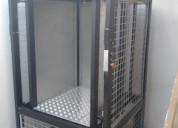 Ascensor autosoportado 200 kg unidad de izaje elÉc