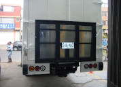Plataformas para camión 500 kg de tapa