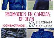Promoción en camisas de jean