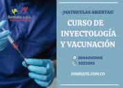 Curso de inyectología y vacunación