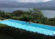 Chalet campestre privado frente al lago calima!