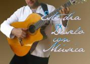 Cantante y músico profesional en bogotá